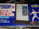 1993 Kenner Starting Lineup Headline collection Jim Abbott