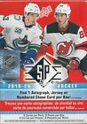 2019-20 UD NHL Upper Deck SP Hockey Factory Sealed Blaster Box -Brand New