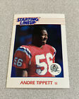 1988 Kenner Starting Lineup Card Andre Tippett Patriots