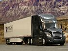 1 64 DCP KNIGHT REFRIGERATED FREIGHTLINER CASCADIA W UTILITY REEFER TRAILER