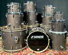 SONOR S Classix Series 2 sizes to choose from Black Glass Glitter FREE SHIP