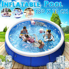 71x29 Family Swimming Pool Garden Summer Inflatable Paddling Pool Kids A