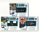 2011 12 UD The Cup Rookie Draft Boards Colten Teubert RC Auto 25