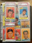 1958 Topps Baseball Nr Complete Set Mantle, Mays, Aaron, Williams, PSA