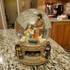 ENESCO Nativity Large Musical Snow Globe Revolving O Little Town of Bethlehem