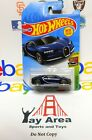 RARE PAINT Logo ERROR Hot Wheels 2019 Super Car 16 Bugatti Chiron Navy Blue NEW
