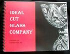 VHTF IDEAL CUT GLASS CATALOG Diamond Poinsettia Spiral Bound Long out of print