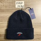 Noah supreme Winged Foot Logo Beanie hat navy new authentic ss21 hat