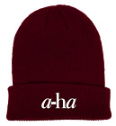 A-HA Embroidered Beanie. BRAND NEW. NEVER WORN. Very Rare