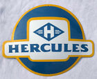 Hercules Motorcycle Moped sign plate 20 inch x 16 inch enameled Porcelain