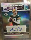 Aaron Rodgers Rookie Cards Checklist and Autographed Memorabilia 5