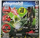 Playmobil 9349 Ghostbusters II Zeddemore With Ghost Trap 24 Pcs New in Box