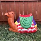 Santas Best 25X40 Plastic Blow Mold Sitting Camel Nativity Decoration Working