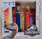 PEZ! Jurassic World Raptor/Blue and T-Rex Collector's Set of 2! NEW! UNOPENED!!!