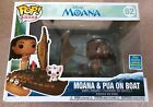 Funko POP Moana and Pua on Boat #62 Disney 2019 Limited SDCC Exclusive