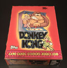 1982 Topps Donkey Kong Unopened Box 36 Wax Packs Rare Video Game Nintendo Cards