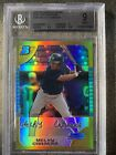 Melky Cabrera # 50 2005 Bowman Chrome Gold Refractor rookie rc BGS 9 MINT