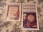 47 Cross Stitch  Country Crafts Magazines 1986 1996 With Premier Issue