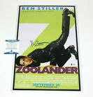 ACTOR BEN STILLER SIGNED ZOOLANDER 12x18 MOVIE POSTER BECKETT BAS COA DODGEBALL