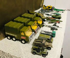Vintage Military Vehicles Airplanes Britain Solido Buddy L Die Cast Mixed Lot 38