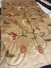 100 Pure Silk Dupioni Embroideries Tapestry Art Holiday Decoration Pillow Table