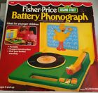 Fisher Price Sesame Street Battery Phonograph see description