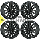 19 Lexus LS460 Black Chrome wheels rims Factory OEM set 74284 EXCHANGE