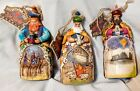 Jim Shore Heartwood Creek 3 Three Wise Men Ornaments 2007 Christmas Nativity