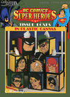 DC Comics Super Heroes Tissue Boxes in Plastic Canvas pattern booklet NEW rare