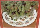 Needle Treasures Cross Stitch Kit DAZZLING ORNAMENTS Tree Skirt Opened Complete