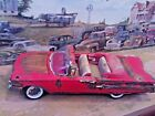 118 Scale Diecast Custom Weathered  Rusted Red1960 Chevy Impala Convertible