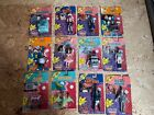 Vintage 1988 Pee-Wee Herman Playhouse Lot Of 12 complete set Figures Matchbox