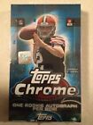2014 Topps Chrome Football Hobby Box Factory Sealed