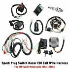 Full Complete Electrics Wiring Harness CDI Coil Starter For 125 150 200 250cc