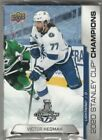 2020 Upper Deck Tampa Bay Lightning Stanley Cup Champions Hockey Cards 19