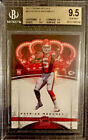 BGS 9.5 RC Patrick Mahomes 2017 Crown Royale #84 Red Hot Rookie PSA 10 Cross WOW