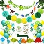 69 Pack Dinosaur Party Supplies Little Dino Party Decorations Set for Kids Birth