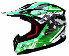 Motocross Youth Kids Helmet DOT Approved YEMA YM 211 Motorbike Moped Off Road