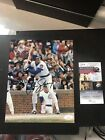 MLB Ryne Sandberg CHICAGO CUBS Signed 8 x 10 Photo Autograph Auto JSA Certified!