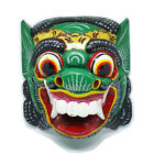 Balinese Wooden Mask Bali Topeng Barong Animal Native Wall Folk Art Home Decor