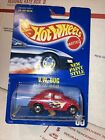 Hot Wheels Vw Bug Number 65 Blue Card With Speed Points