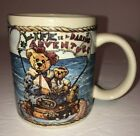 The Boyds Collection LTD Bear 1998 Coffee MugCup  Bearware Pottery Works RARE