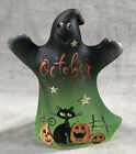 Fenton Glass Halloween Ghost Hand Painted By Fenton Artist M Kibbe 1 of 25