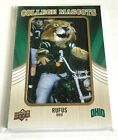 2013 Upper Deck Football College Mascots Patch Card Guide 52