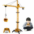 Metal Diecast Tower Crane 24G Construction Vehicles Model Toy For Kids Adults