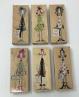 Lot Of 6 Stamps Happen Dolly Mamas Rubber Stamps Drama Queen Shoe Shopper Etc