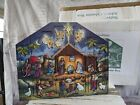 Byers choice nativity wooden advent calendar large traditions Xmas decor