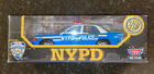 Motor Max NYPD Diecast Car118 RMP Blue and White Ford Crown Vic 3100 Cop Police