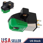 Audio Technica AT 95E Dual Moving Magnet Turntable Cartridge Green
