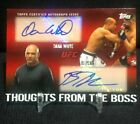 2010 Topps UFC Series 4 MMA Trading Cards 2